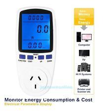 Backlight Energy Meter Watt Voltage Volt Electricity Moniter Analyzer Power New