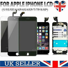 LCD Screen Replacement for iPhone 5 6 6S 7 8 Plus Touch Display Digitizer Camera