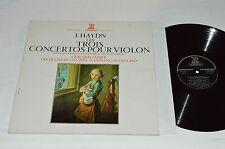 JOSEPH HAYDN Les Trois Concertos Pour Violon Violin LP Erato Gerard Jarry NM/VG