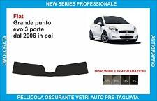 fasce parasole vetri Fiat grande punto evo 3 porte dal 2006 in poi