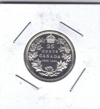 """**1998** 90th Anniversary """"Proof"""" Canadian 25 Cents -**NO SALES TAX**"""
