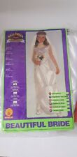 Girls Beautiful Bride Costume Ghost Bride Horror Zombie Halloween Outfit