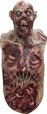 Halloween SUPER ZOMBIE ADULT LATEX DELUXE MASK WITH CHEST COSTUME