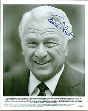 "Eddie Albert, American Actor, Signed 8"" x 10"" B & W Photo, Coa, Uacc Rd 036"