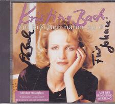 Kristina Bach-Ein Bisschen Naher zu Dir cd album Gesigneerd