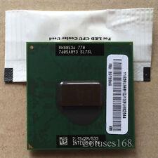 Intel Pentium M 770 2.13 GHz 2M 533 MHz Processor Socket mPGA479 Mobile CPU