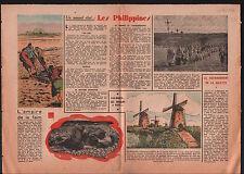 Les Philippines Manille Pilipinas Manila / Windmill Rotterdam 1946 ILLUSTRATION