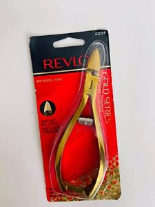 Revlon Gold Series Titanuim Coated Heavy Duty Nail Clipperl