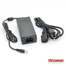 AC Power Adapter with 3 Prong Plug 12 Volt 3 Amp with 5 Mm Dc Output Jack