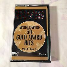 ELVIS PRESLEY~Worldwide 50 Gold Award Hits~Vol 1 No. 2~CASSETTE TAPE~L.N.EXCELLE