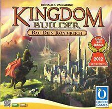 KINGDOM BUILDER von Donald X. Vaccarino, Spiel des Jahres 2012, NEUWERTIG