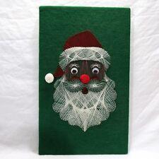 Vtg String Art Completed Santa Saint Nick In Original Box Hazel's Kaboodles