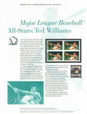 #903 (45c) Forever Ted Williams #4694 USPS Commemorative Stamp Panel