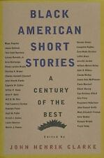 Black American Short Stories: A Century of the Best (Paperback or Softback)