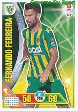 278 FERNANDO FERREIRA PORTUGAL CD.TONDELA CARTAO CARD ADRENALYN LIGA 2017 PANINI