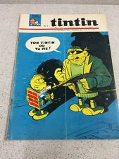 TINTIN  N°871 17e ANNEE  1 JUILLET 1965 REVUE MAGAZINE VINTAGE