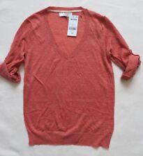 Next Linen Mix V-Neck Sweater Size 10