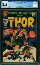 Journey into Mystery (Thor) # 124 US MARVEL 1965 Hercules-Kirby CGC 8.5 VFN +