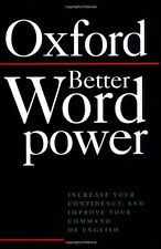 Better Word Power: Increase Your Confidence, and Improve Your Command of Engli,