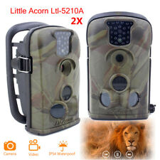 2pcs Little Acorn Ltl-5210A Trail Camera Home Security Hunting Scouting Cam IR