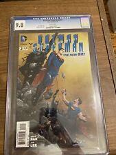 Batman/Superman #2 2013 CGC 9.8 Jae Lee Cover