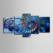 Unframed Peacock Canvas Print Modern Home Decoration Wall Art Pictures Fashion