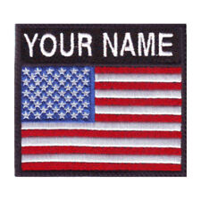 USA Personalized Badge Embroidered Patch