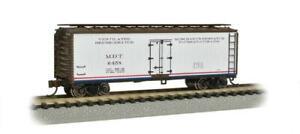 "N Bachmann ""Silver Series"" 19853 Merchants Despatch 40' Wood Side Reefer Car"