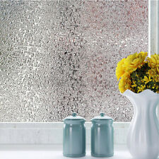 3D Window Film Non-Adhesive Static Decorative Glass Film for Home Kitchen Office
