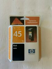 HP 45 Ink Cartridge - Genuine - Black - New Old Stock - Retail Box - 51645AC