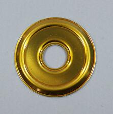 ABUS Abdeckrosette 50mm für Türspion Metall gold 1 Stück NEU