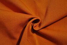B88 tono de color calabaza polvoriento Algodón Rico sólida de gabardina Hecho en Italia 🇮 🇹