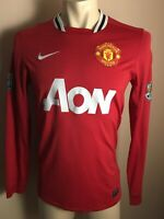 Manchester United 2011 2012 ERA Rooney Home Red Devils Nike Jersey Men s LONG