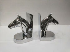 Decorative Bookend Pair with Horse Head