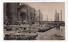 GARTSHERRIE IRONWORKS, COATBRIDGE: Lanarkshire postcard (C18176)