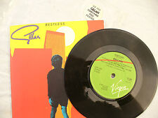 GILLAN  RESTLESS / ON THE ROCKS poster sleeve ....... 45rpm / classic
