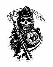"Sons of Anarchy SOA Logo sticker_Reaper 3""X4"""