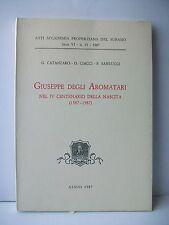 GIUSEPPE DEGLI AROMATARI  - G.Catanzaro, O.Ciacci, F.Santucci