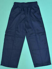 NEW school uniform trousers double knee pants Navy size 5 to 16