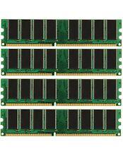 4GB (4X1GB) DDR Memory PC-3200 Gateway 510T