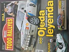 MAGAZINE TODO RALLYES  N°91 RALLY WRC MEXIQUE CITROEN LOEB ANNEE 2008 98 PAGES