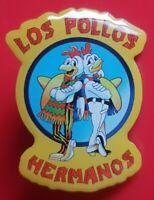 Breaking Bad Pin Los Pollos Chicken Gus Fring Enamel Metal Brooch Badge Lapel