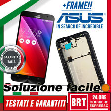 LCD+TOUCH SCREEN+FRAME PER ASUS ZENFONE 2 ZE551ML Z00AD Z00ADA DISPLAY NERO BRT!