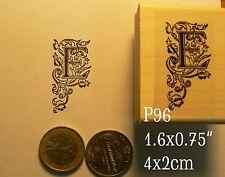P96 calligraphy letter E