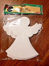 Holiday Crafts Foam Angel Shapes 12 Count Pack of Christmas Crafting Shapes New
