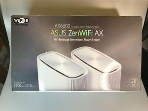 ASUS ZenWiFi XT8 Tri-Band Mesh Wi-Fi 6 System - (Set of 2)