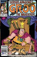 SERGIO ARAGONES Signed GROO Comics Issues 73-75 NM BECKETT Authentic psa Autos!