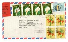 1974 South Africa Express cover from Johannesburg to Croydon England