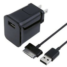 Wall Charger Adapter + USB Cable For Samsung Galaxy Tab 2 Tablet 7 / 8.9 / 10.1""