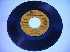 The Kinks Lola / Apeman 1986 45rpm
